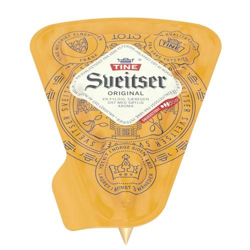 Tine Sveitserost 28% Med skorpe, ca. 600 g