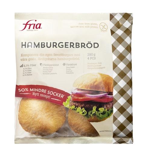 Fria Hamburgerbrød Glutenfri, 280 g