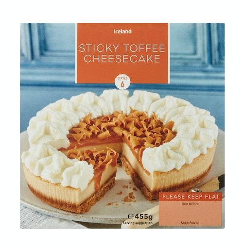 Iceland Ostekake Toffee 455 g