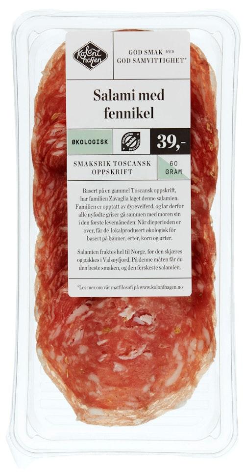 Kolonihagen Salami Med Fennikel 60 g