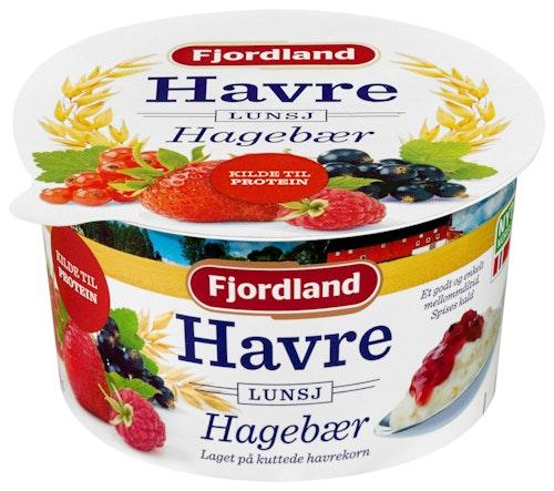 Fjordland Havrelunsj med Hagebær 150 g