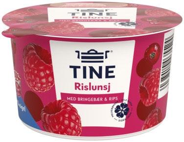 Tine Rislunsj Med Bringebær & Rips Piano, 150 g