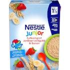 Junior Fullkorn Jordbær Banan