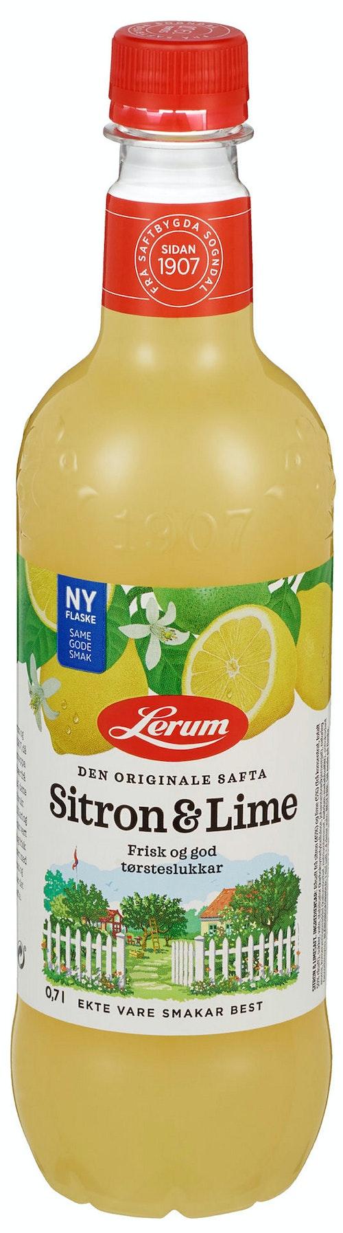Lerum Sitron & Limesaft 0,7 l