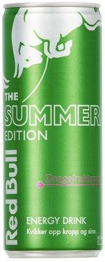 Red Bull Red Bull Energidrikk Summer Edition Dragefrukt, 250 ml