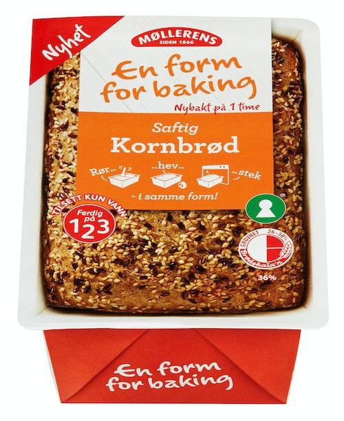 Møllerens Kornbrød En Form For Baking, 400 g