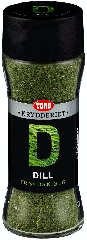 Toro Dill Tørket 32 g