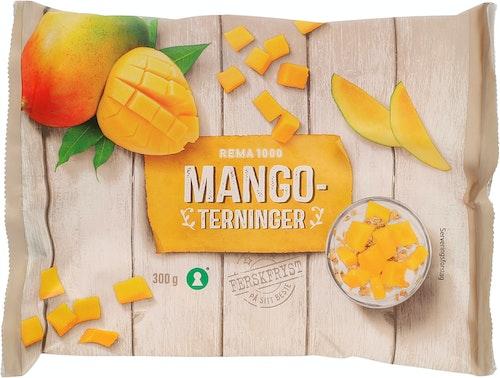 REMA 1000 Mangoterninger Fryst 300 g