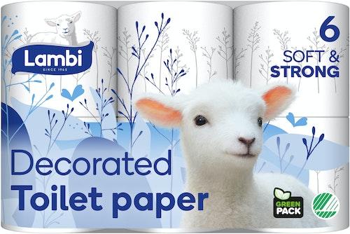 Lambi Toalettpapir 6 stk