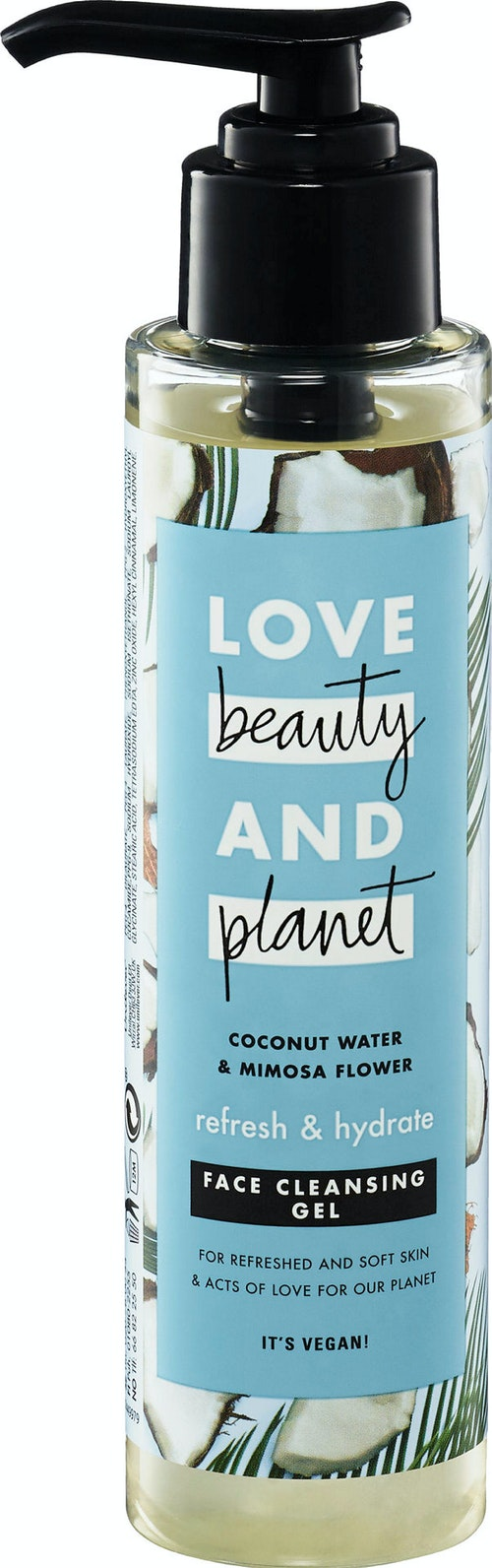 Love Beauty & Planet Refresh and Hydrate Face Cleansing Gel 125 ml