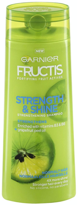 Garnier Shampo Strength & Shine Fructis, 250 ml