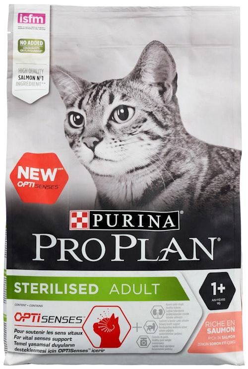 Pro Plan Sterilised Adult Salmon To Adult cat, 3 kg