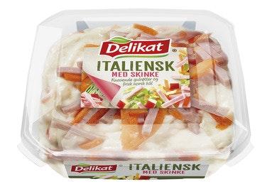 Delikat Italiensk Salat med Skinke 180 g