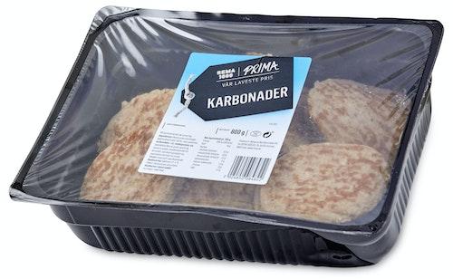 Prima Karbonader Ferske 800 g