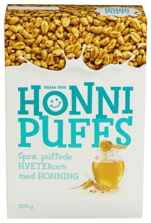 REMA 1000 Honni Puffs  500 g