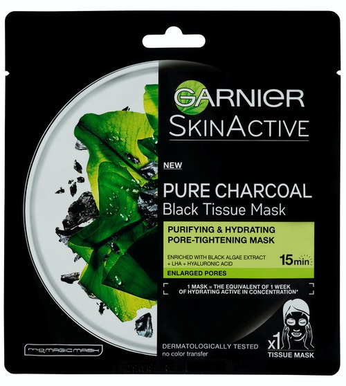 Garnier Pure Charcoal Tissue Mask 1 stk