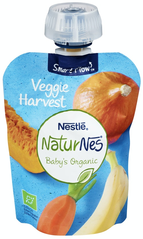 Nestlé Naturnes Veggie Harvest Smoothie 90 g