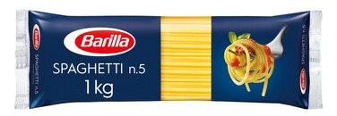 Barilla Pasta Spaghetti No.5 1 kg
