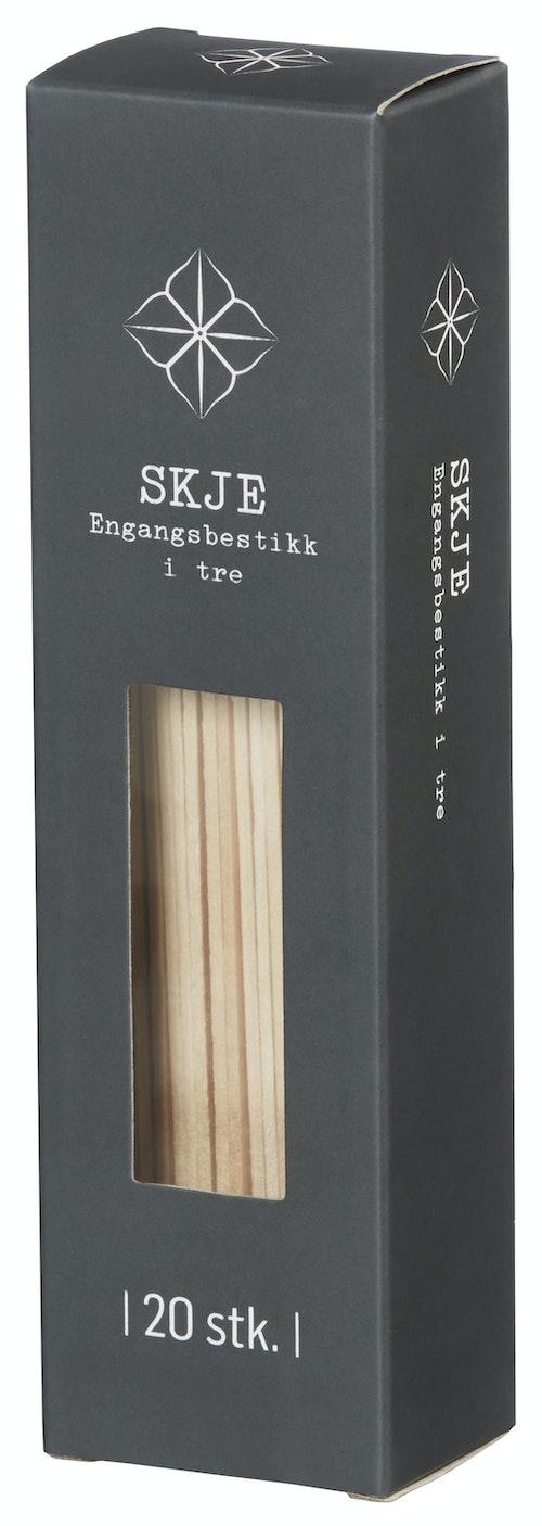 REMA 1000 Skjeer Engangs i Tre 20 stk, 20 stk