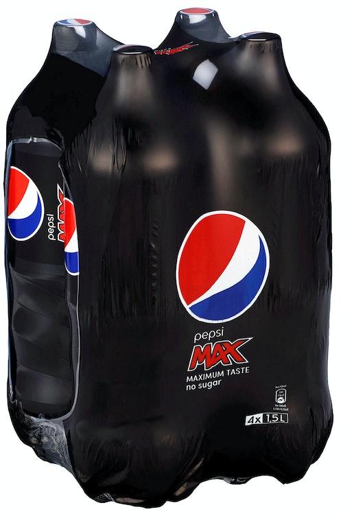 PepsiCo Pepsi Max 4x1,5l, 6 l