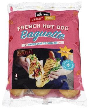 Hatting French Hot Dog 3pk 180 g