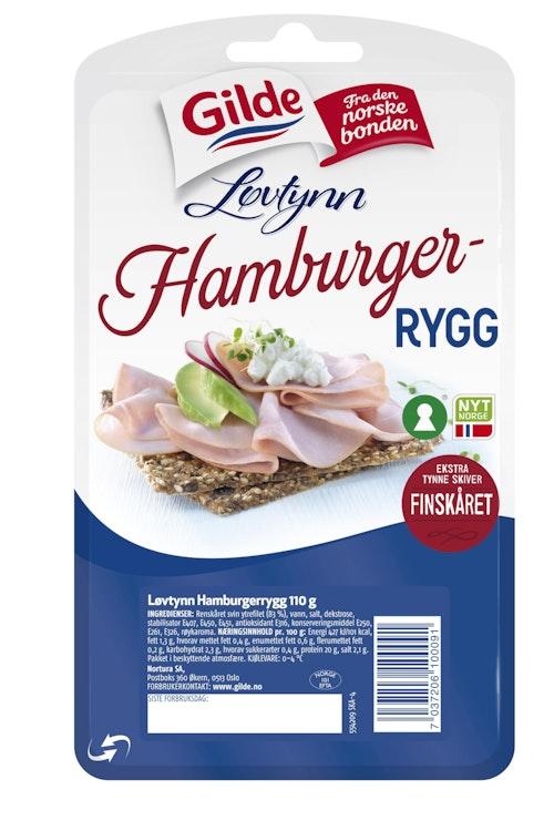 Gilde Hamburgerrygg Løvtynn 110 g