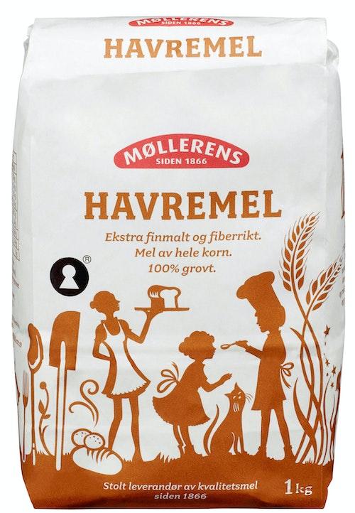 Møllerens Havremel 1 kg