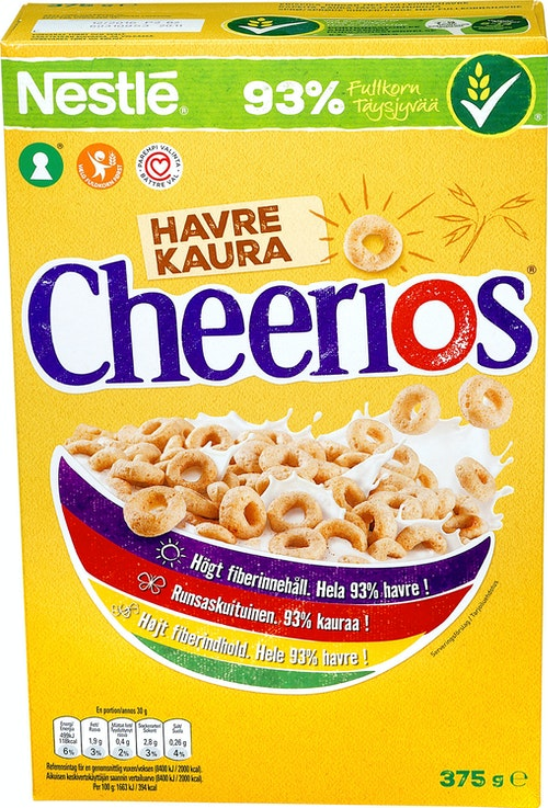 Nestlé Cheerios Havre 375 g