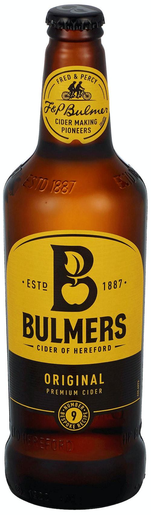 Bulmers Original Cider 4,5%, 0,5 l