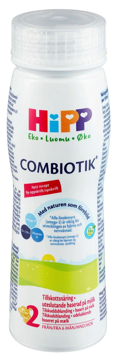 Hipp Combiotik 2 Drikkeklar, fra 6 mnd, 200 ml