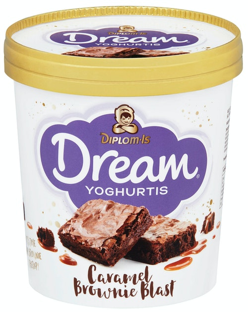 Diplom-Is Dream Caramel Brownie Blast 0,8 l