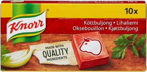 Knorr Kjøttbuljong Terninger, 6 l