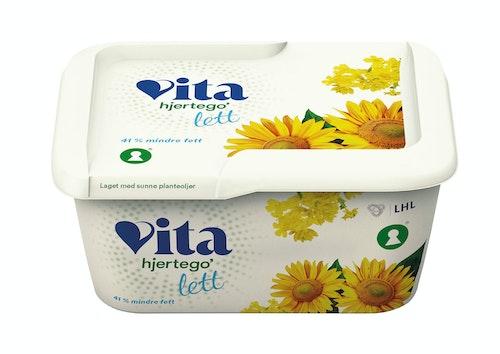 Vita Hjertego' Vita Hjertego' Lett Margarin 370 g