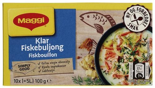 Maggi Klar fiskebuljong Terninger, 5 l