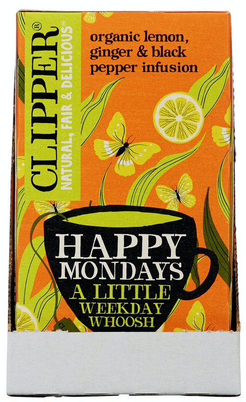 Clipper Te Happy Mondays Økologisk, 20 stk