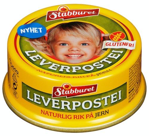 Stabburet Leverpostei Glutenfri 100 g
