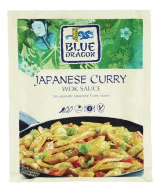 Blue Dragon Blue Dragon Japanese Curry Wok 120 g