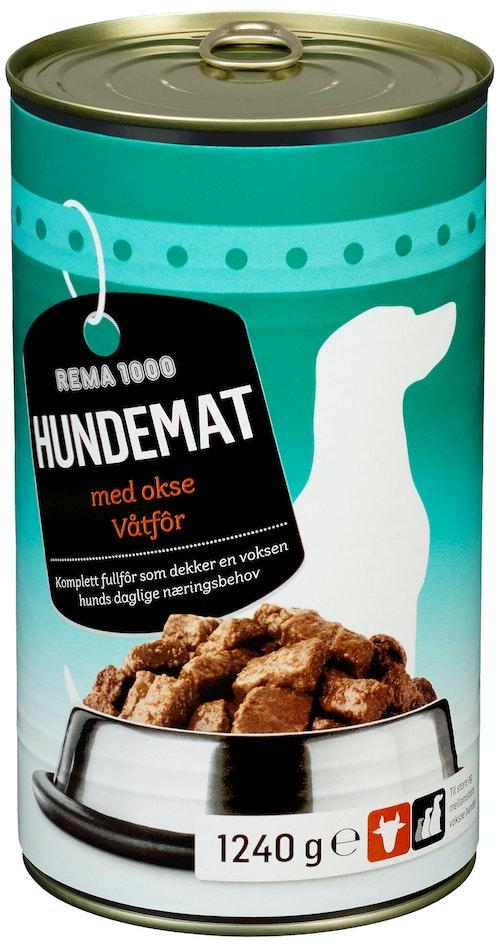 Bestevenn Hundemat Oksekjøtt 1,24 kg