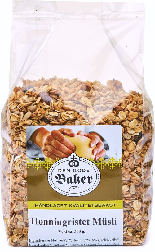 Den Gode Baker Honningristet Musli 500 g