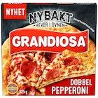 Grandiosa Nybakt Dobbel Pepperoni Pizza