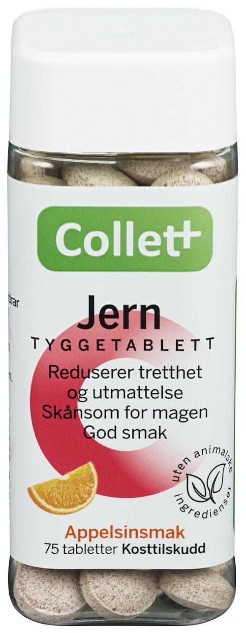 Collett Jern Tyggetablett 75 tabletter, 75 stk