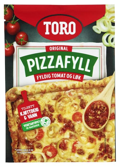 Toro Pizzafyll m/Tomat og Løk 55 g