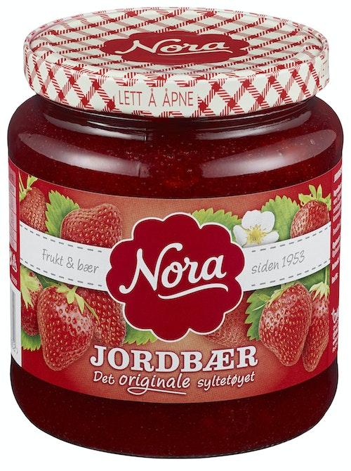 Nora Jordbærsyltetøy Originale 650 g