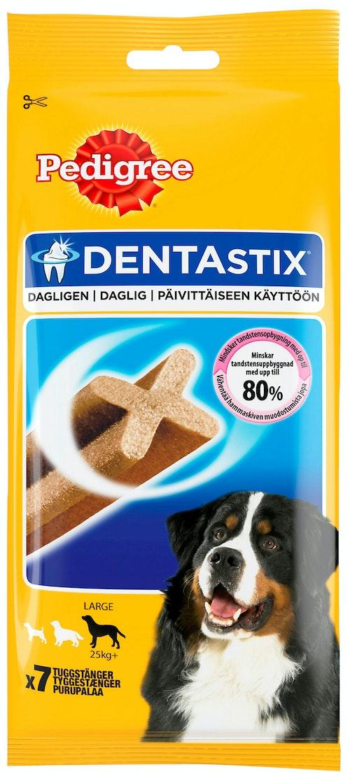 Pedigree Dentastix Large 7 stk, 270 g
