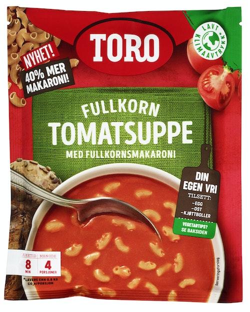 Toro Tomatsuppe Fullkornsmakaroni 127 g