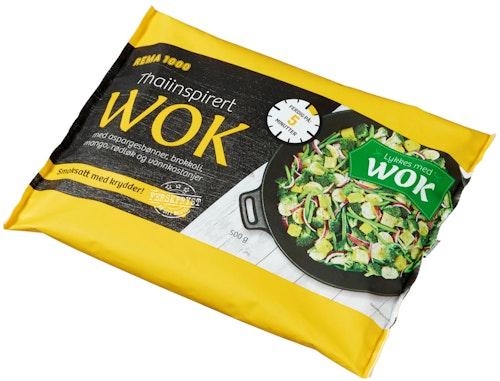 REMA 1000 Thai-inspirert Wok 500 g