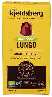 Kjeldsberg Kaffebrenneri Kaffekapsel Espresso 57 gram, 10 stk