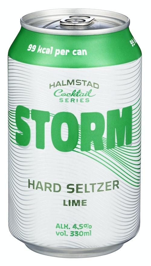 Storm Hard Seltzer Lime, 0,33 l