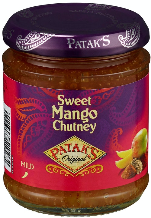 Patak's Sweet Mango Chutney 210 g