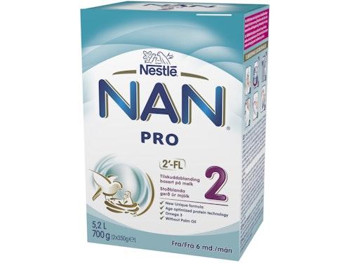 Nestlé NAN Pro 2 Fra 6 mnd, 700 g